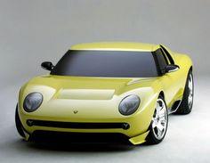 Lamborghini Miura Retro 2006, para esa época lo retro estaba de moda y Lamborghini decidió volver a su pasado con este concepto.