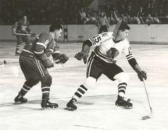 Maurice Richard   Montreal Canadiens   Chicago Blackhawks   NHL   Hockey