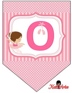 Ballerina Birthday Parties, Ballerina Party, Scrapbook Bebe, Ballet Girls, Ideas Para Fiestas, Alphabet And Numbers, Holidays And Events, Little Girls, Diy And Crafts