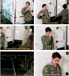 Void Stiles!! Skit filmed for the After After show - part 2 , so funny (and a little scary!)