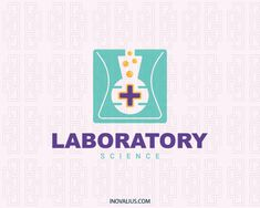 Laboratory is a square logo with a laboratory flask in the center with bubbles coming out with the colors yellow, green, and gray.(medical, laboratory, pharmaceutical, hospital, medicine, gradient, bottle, science, hospitality, health, logo for sale, logo design, logo, logotipo).