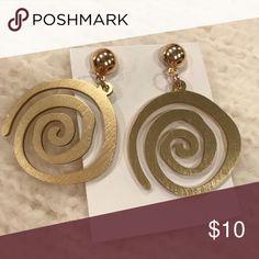 NWOT Earrings Fun spiral shaped design earrings for casual wear! Jewelry Earrings