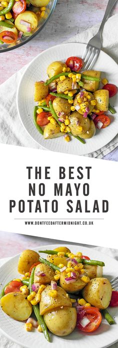 The best vegan no mayo potato salad