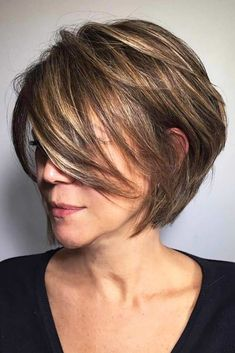Best Color Combination For Layered Bob #shortombrehair #highlights #shorthair #bobhaircut #brownhair ❤️Women who want to diversify their cuts with ombre or balayage should check out these styles. A blonde pixie, brown bob, and many other color ideas are here! ❤️ See more: http://lovehairstyles.com/latest-short-ombre-hair-styles/ #lovehairstyles #shortombrehair #shorthair #hairstyles #haircuts