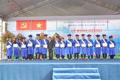 Cho thuê nhà bạt-Lễ khai giảng năm học Trường THPT Nguyễn Hữu Cầu