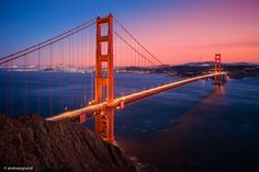 Golden Gate Bridge  City and architecture photo by dragrund http://rarme.com/?F9gZi