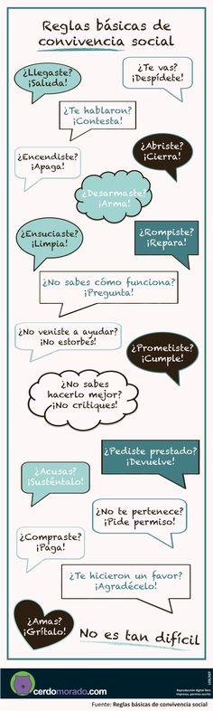 Reglas básicas de convivencia social/ Elkarbizitzaren alde #Lauaxetaikastola #educación