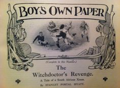 Illustration from The Boy's Own Paper, 1914