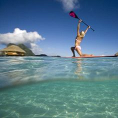 SUP Yoga // be ocean minded
