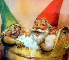 rien poortvliet poster, gnome true love