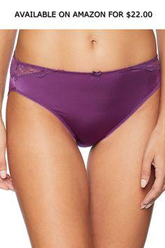 b72251d677 Arabella Women s Standard Hi Cut Lace Back Panty