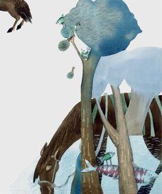 "Svetlana Akateva illustration for ""Baron Munchausen"". Baron, Children's Books, Illustrators, Bugs, Illustration Art, Painting, Animals, Bonito, Animales"