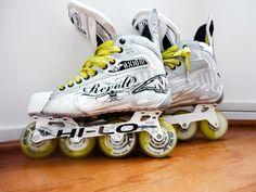 Roller Hockey Skates, Air Max Sneakers, Sneakers Nike, Hockey Gear, Nike Air Max, Nike Tennis, Air Max