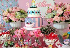 40 lindas ideias para fazer uma festa Alice no País das Maravilhas!  : Mil dicas de mãe