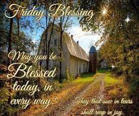 Friday Blessing
