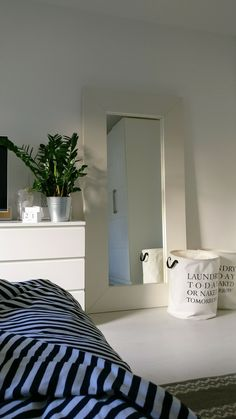 One corner of the bedroom