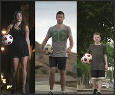 McDonald's Trick Shot Pros: McDonald's is cashing in on World Cup fever, but forget whatever it is they're promoting. Let's just thank their ad agency for rounding up these talented soccer trick shot specialists for this awesome commercial. -