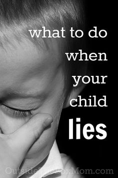 Are you wondering what to do when your child lies? Your response is more…
