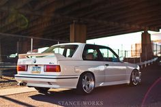 Enjoy a spring photo set of George Voutsino's BMW on AC Schnitzer Type while we look into the rich history in motor sports. E21, Ac Schnitzer, Bmw E30 M3, Tuner Cars, Bosch, Car Manufacturers, Cool Cars, Auto Spares, Retro