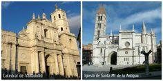 Catedral e iglesia de la Antigua de Valladolid
