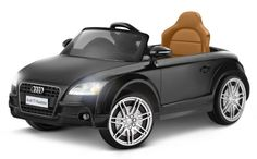 Audi TT Roadster 6-Volt Ride-on Battery-powered Car (3mph, Realistic/Licensed by Audi, Working Headlights & Stereo)