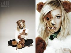Ellinor Rosander de la chaîne Youtube Ellimacs SFX Makeup.