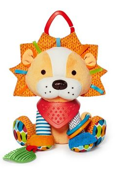 Skip Hop 'Bandana Buddies' Activity Lion available at #Nordstrom