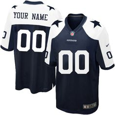Nike Dallas Cowboys Customized Navy Blue Throwback Stitched Elite Youth NFL  Jersey Dallas Cowboys Shirts f4a78e9da