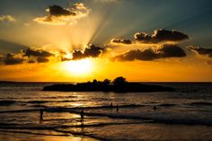Sun setting over Kalathas Beach in Chania, Crete Crete Greece, How To Memorize Things, In This Moment, Sunset, Pictures, Photos, Beach, Photographs, Outdoor