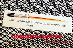 May the Force be with you on Valentine's with glow sticks