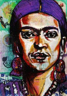 Purple Frida