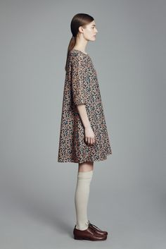 Finch Dress and Lace Up Shoe Fashion Now, Runway Fashion, High Fashion, Babydoll Dress, Dress Up, Elements Of Style, Casual Looks, Autumn Fashion, Cute Outfits