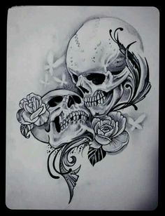 skull and rose bride and groom tattoo designs - Yahoo Image Search Results 0e5363ea449fc