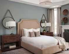 Brewster Gray - One of the best blue gray paint colors