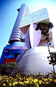 Beautiful  Construction at São Paulo City. SP. Brazil.