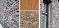 La cuarta casa pasiva certificada en Cataluña como Passivhaus, construida con STONEPANEL®   #piedranatural #cupastone #arquitectura #fachadaventilada