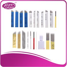 New arrival Manual tattoo needle Sharp microblading blades All size of microblading for eyebrow or lip