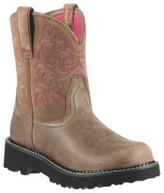 Ariat Fatbaby Ladies Brown Bomber Boots   Cavender's