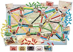 Ticket to Ride - First Journey Europe from Days of Wonder! Games Design, Best Family Board Games, Steve King, Ticket To Ride, Game Tickets, Europe, Games For Girls, Games To Play, Holiday Gifts