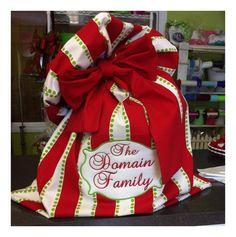Custom santa sacks