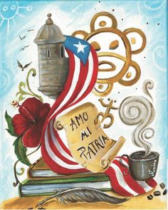 Puerto Rico Island, Puerto Rico Food, San Juan Puerto Rico, Puerto Rican Power, Puerto Rican Flag, Puerto Rico Pictures, Love Is A Verb, Puerto Rican Culture, Enchanted Island