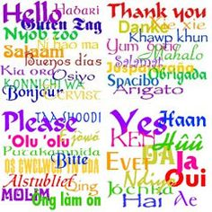 I love learning different languages, and learning about other peoples cultures. :)