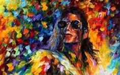 michael jackson art painting