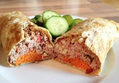 Lunchwrap tonijn - Paleo-Lifestyle