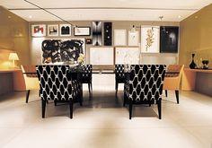 Artefacto Haddock Lobo - Arq. Consuelo Jorge - Foto Mik Biersack #ceramicaportinari. Produto Cerâmica Portinari. Salas, Rooms, Sala.