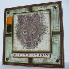 CC187, Have a Howling good Birthday by kokirose - Cards and Paper Crafts at Splitcoaststampers