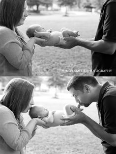 "Newborn photography ""I love you from your head to your toes"""