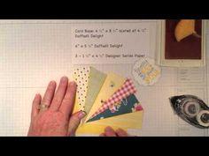 SunBurst Ray technique -  uses paper scraps.  Related Blog post: http://justspongeit.blogspot.com/2013/05/sunburst-video.html  &  http://justspongeit.blogspot.com/2013/05/another-sunburst-card.html