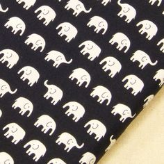 Love this elephant fabric.