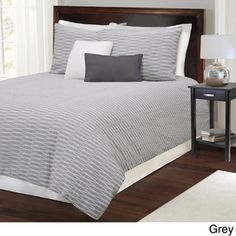 Parker Cotton Duvet with Shams Sold Separately   Overstock.com Shopping - Great Deals on Duvet Covers